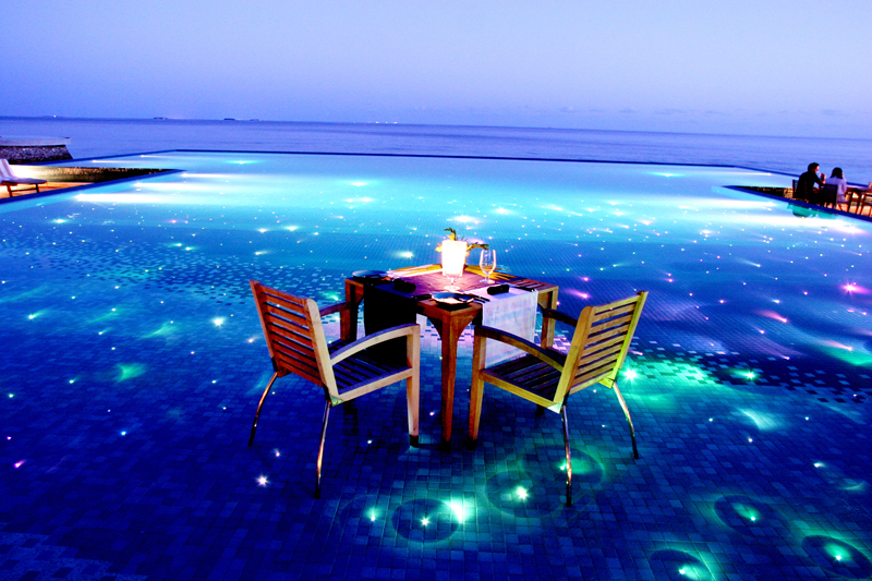 Destination Dining for Honeymoon